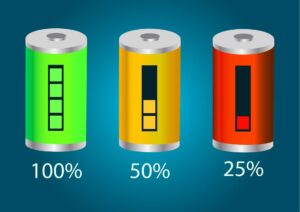 lithium-ion battery degrade