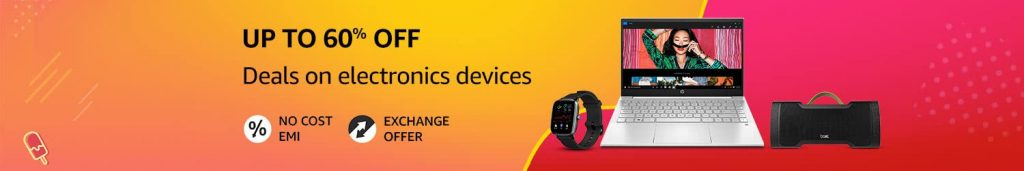 discounts on electronic gadgets